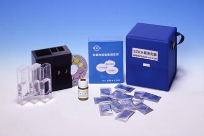 低濃度・高濃度残留塩素濃度測定器 SP-3